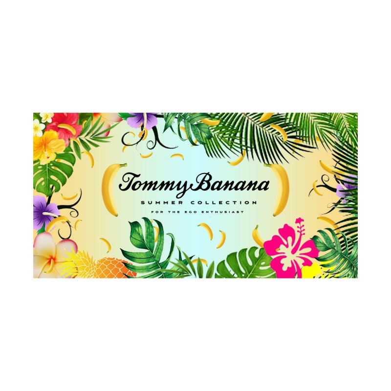 TOMMY BANANA - BLUE LAGOON - BEACH TOWEL Accessories Beach Towel by WISE FINGER LAB