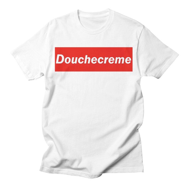DOUCHECREME Men's T-Shirt by WISE FINGER LAB