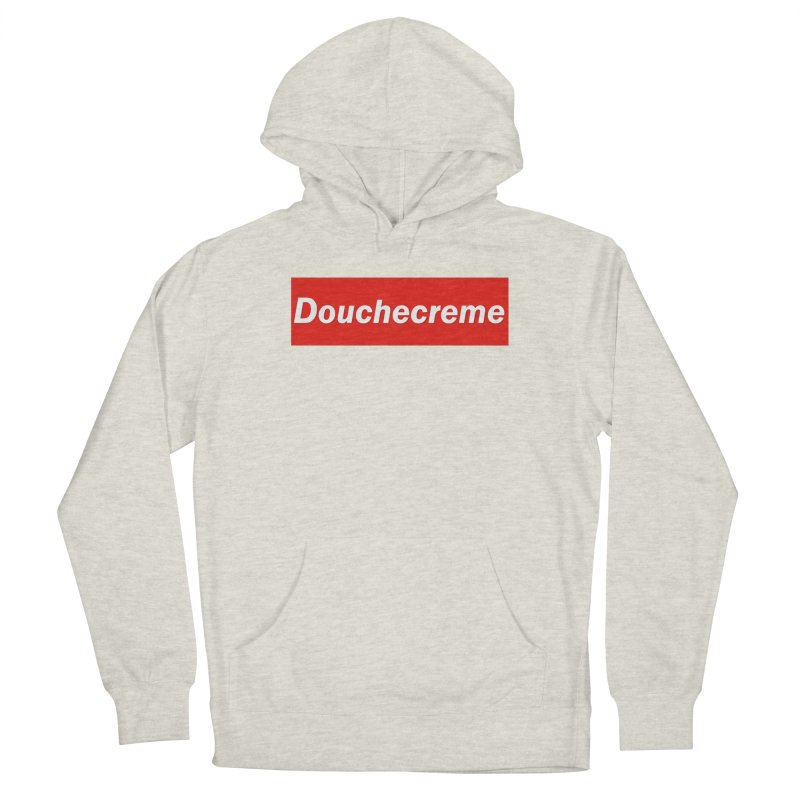 DOUCHECREME Men's Pullover Hoody by WISE FINGER LAB