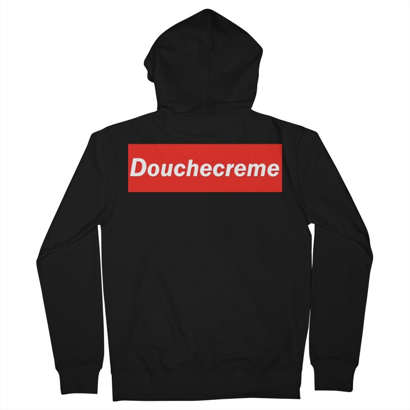 DOUCHECREME Men's Zip-Up Hoody by WISE FINGER LAB