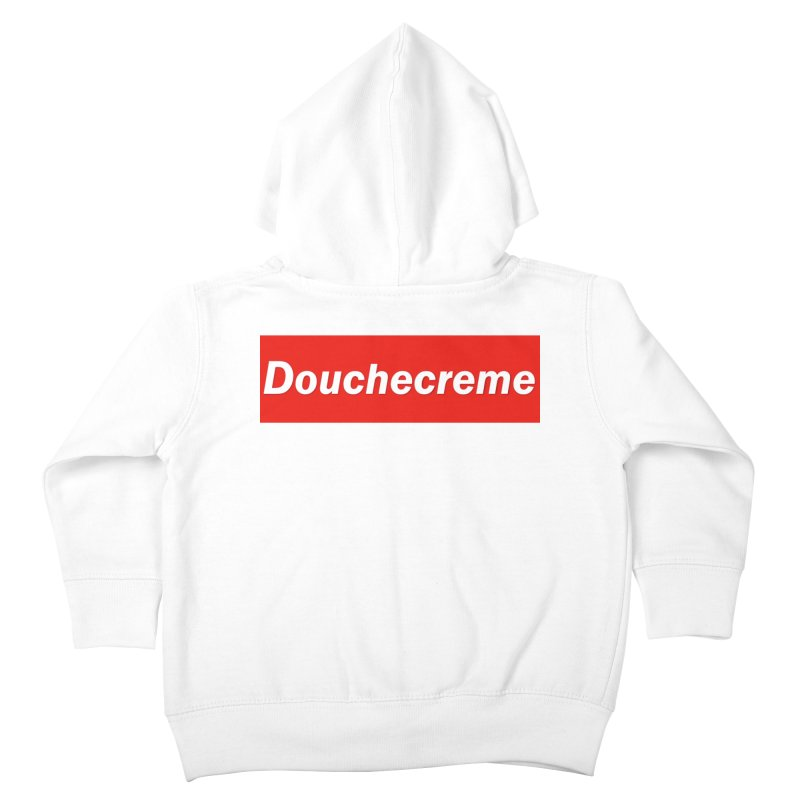 DOUCHECREME Kids Toddler Zip-Up Hoody by WISE FINGER LAB