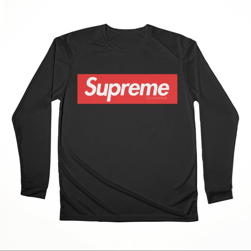 SUPREME DOUCHEBAG Women's Longsleeve T-Shirt by WISE FINGER LAB