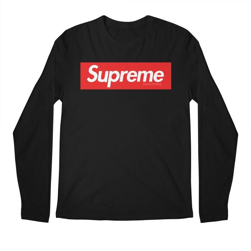 SUPREME DOUCHEBAG Men's Longsleeve T-Shirt by WISE FINGER LAB