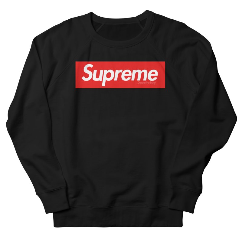 SUPREME DOUCHEBAG Women's Sweatshirt by WISE FINGER LAB