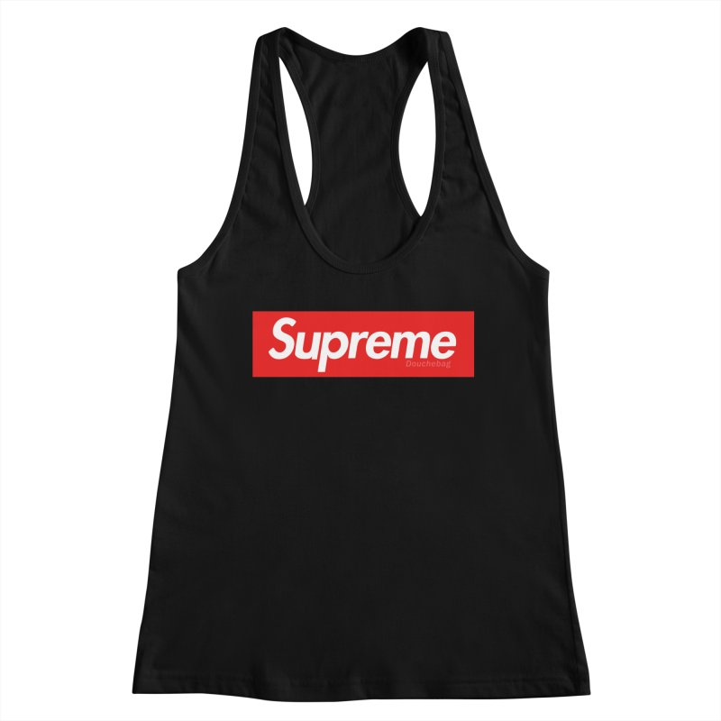 SUPREME DOUCHEBAG Women's Tank by WISE FINGER LAB
