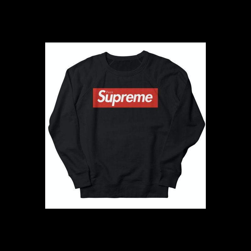 FUCK SUPREME Kids Toddler Longsleeve T-Shirt by WISE FINGER LAB