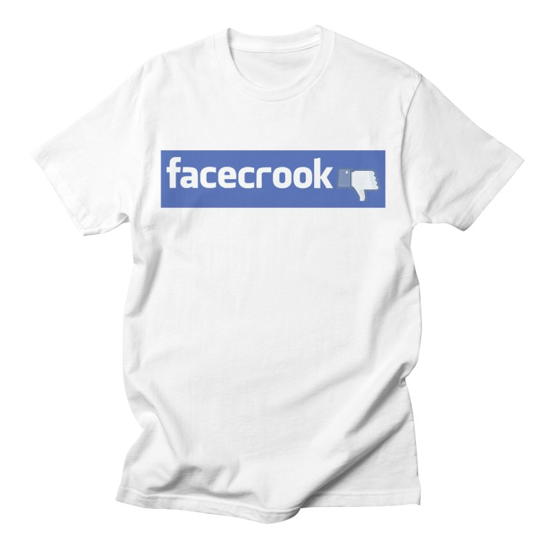 FACECROOK Men's T-Shirt by WISE FINGER LAB
