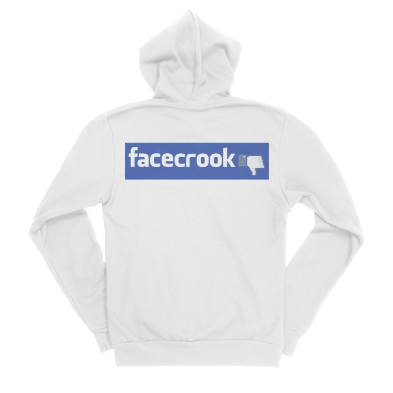 FACECROOK Women's Zip-Up Hoody by WISE FINGER LAB