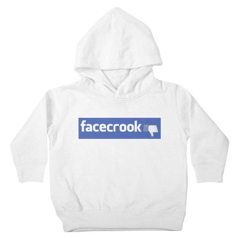FACECROOK Kids Toddler Pullover Hoody by WISE FINGER LAB