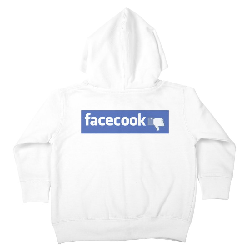 FACECOOK Kids Toddler Zip-Up Hoody by WISE FINGER LAB