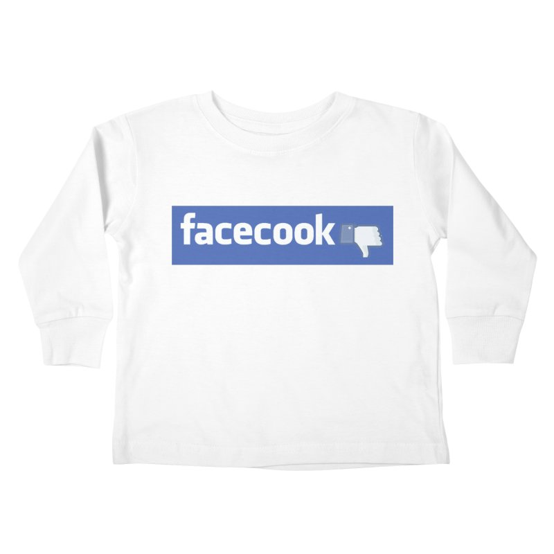FACECOOK Kids Toddler Longsleeve T-Shirt by WISE FINGER LAB