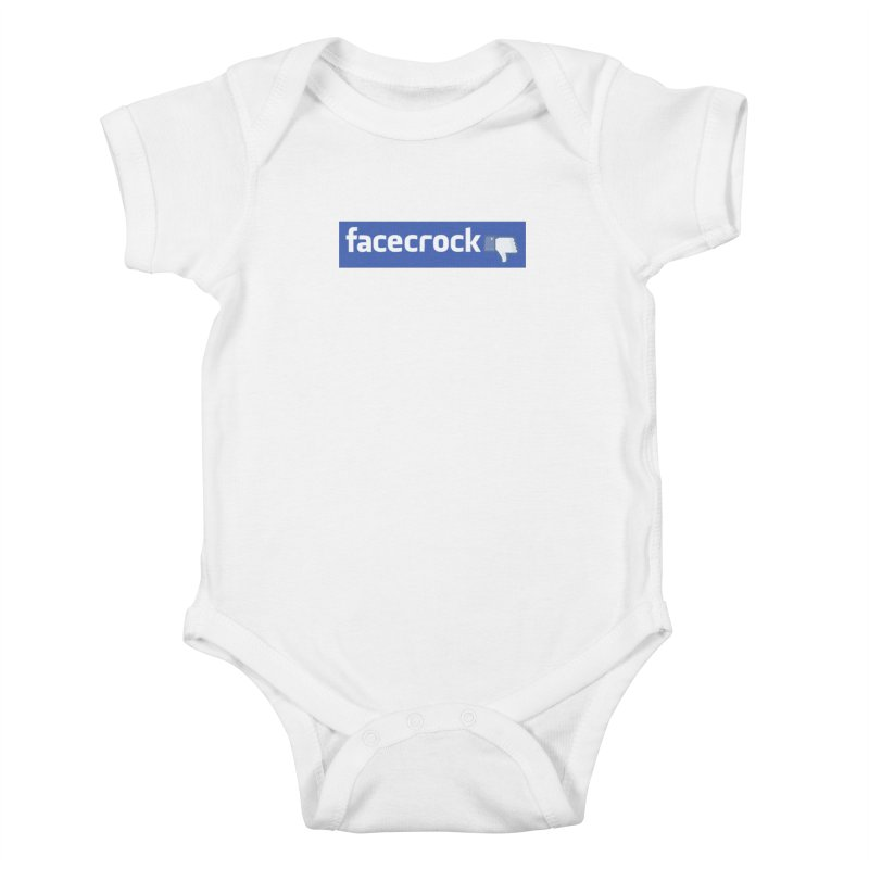 FACECROCK Kids Baby Bodysuit by WISE FINGER LAB