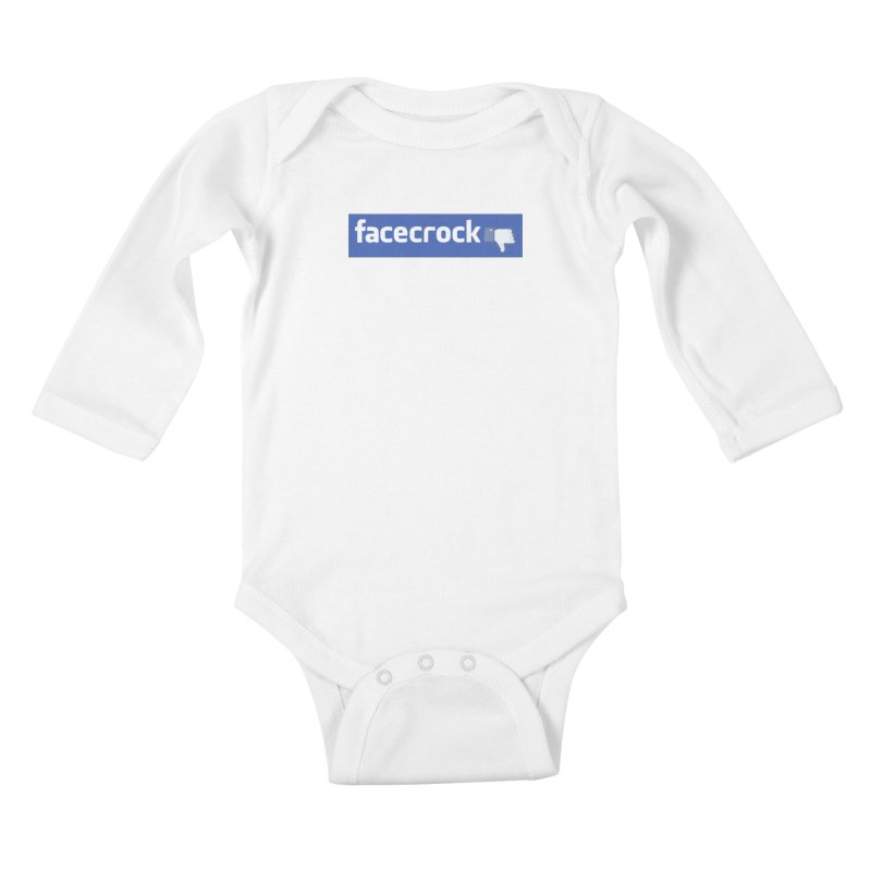 FACECROCK Kids Baby Longsleeve Bodysuit by WISE FINGER LAB