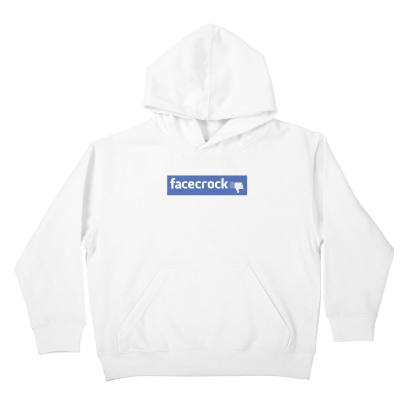 FACECROCK Kids Pullover Hoody by WISE FINGER LAB