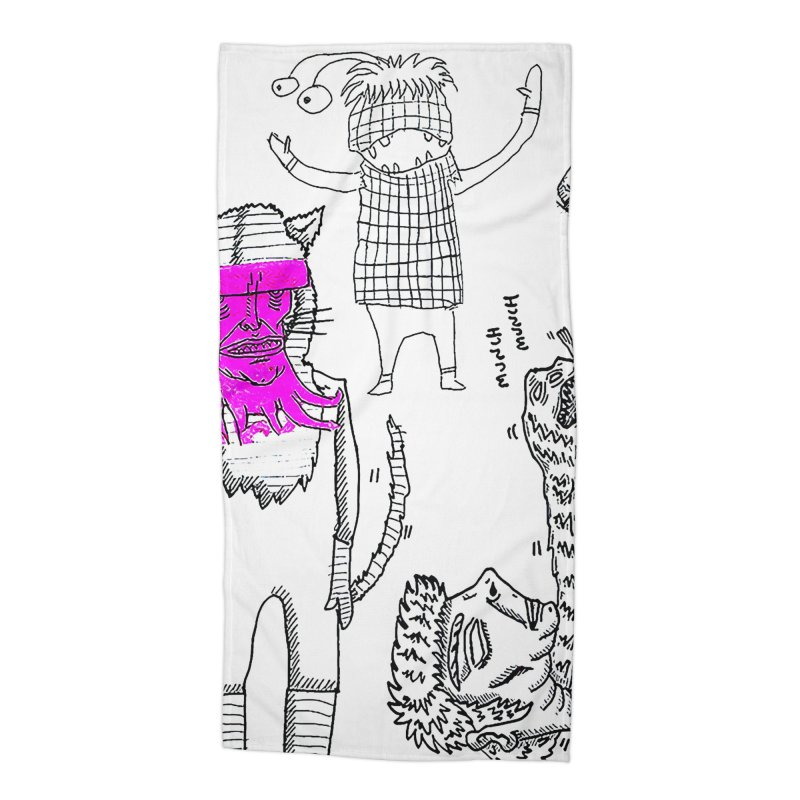 THE LAB Accessories Beach Towel by WISE FINGER LAB