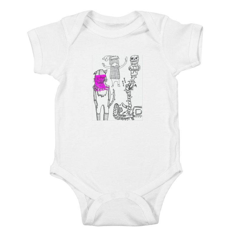 THE LAB Kids Baby Bodysuit by WISE FINGER LAB
