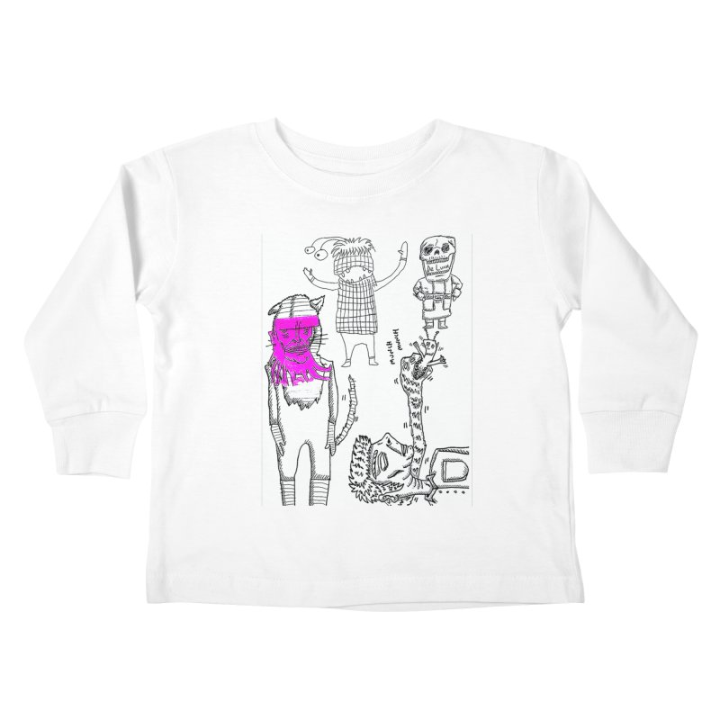 THE LAB Kids Toddler Longsleeve T-Shirt by WISE FINGER LAB