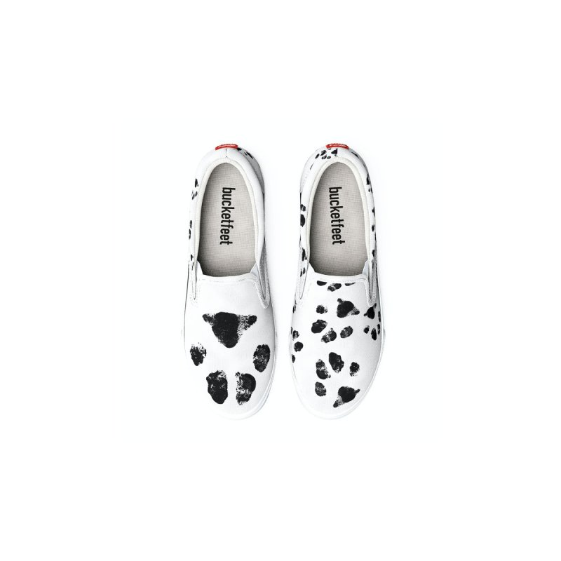 JACKSON - PAW PAW - BLACK AND WHITE Men's Shoes by WISE FINGER LAB