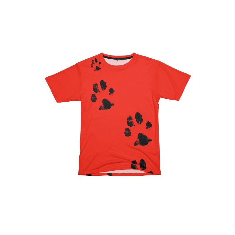 PAW PATH - RED NOSE Men's Cut & Sew by WISE FINGER LAB
