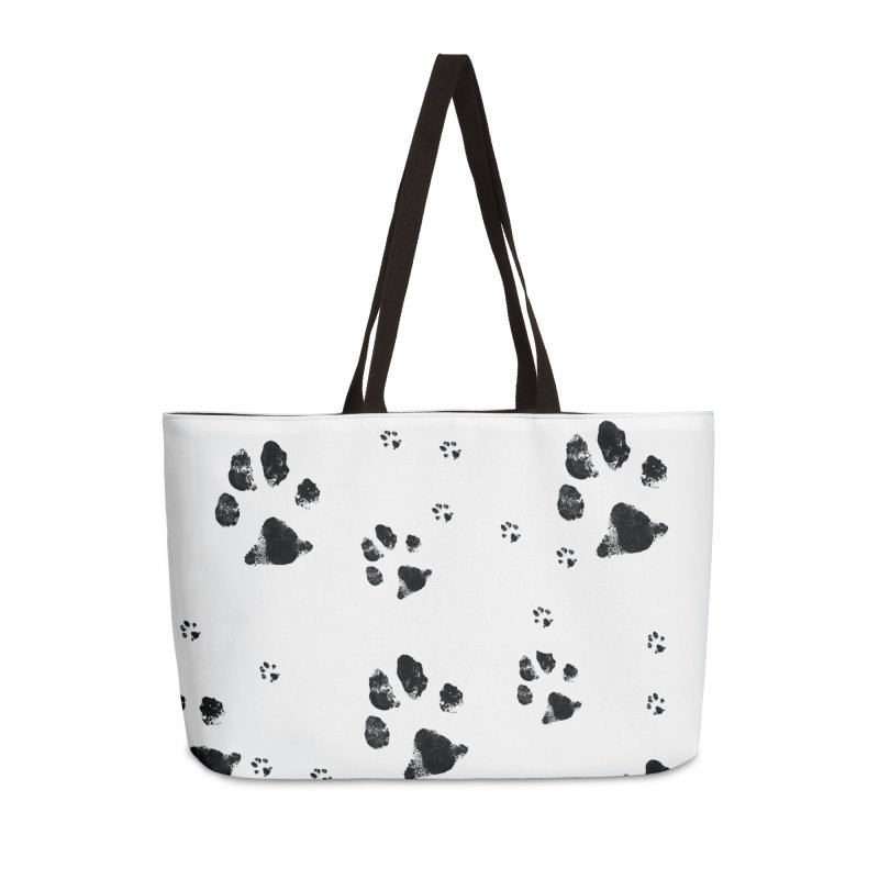 PAW PATH - DALMATIAN Accessories Bag by WISE FINGER LAB