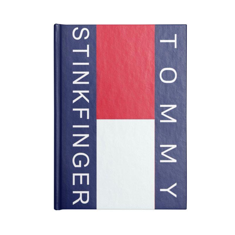 TOMMY STINKFINGER Accessories Notebook by WISE FINGER LAB