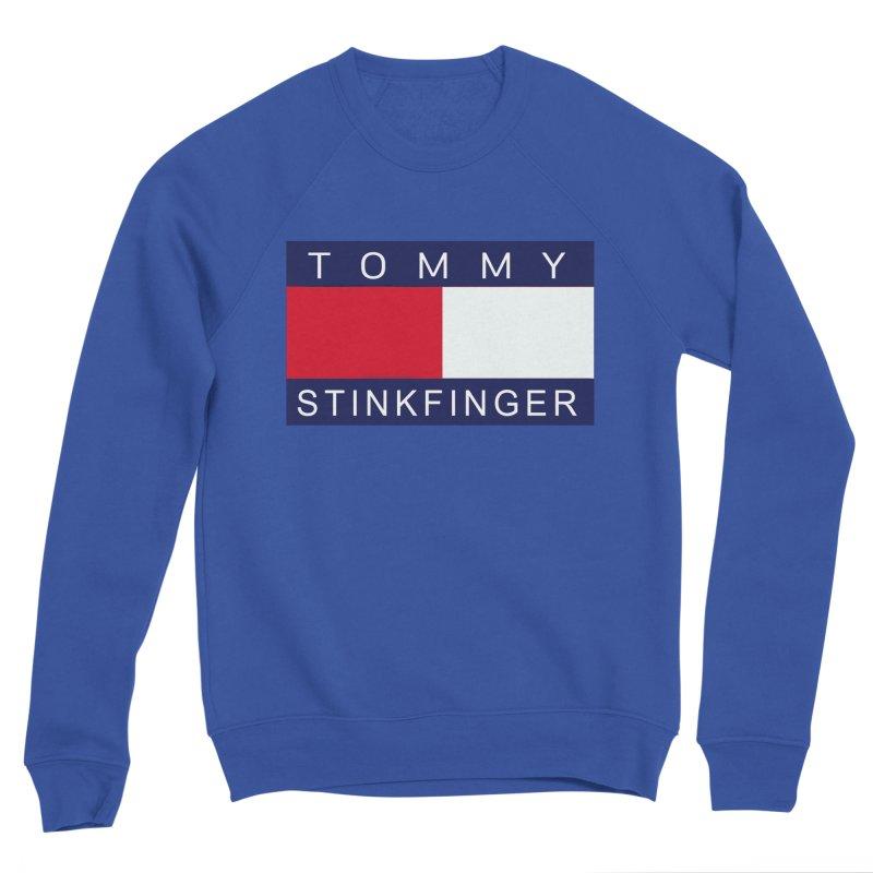 TOMMY STINKFINGER Men's Sweatshirt by WISE FINGER LAB