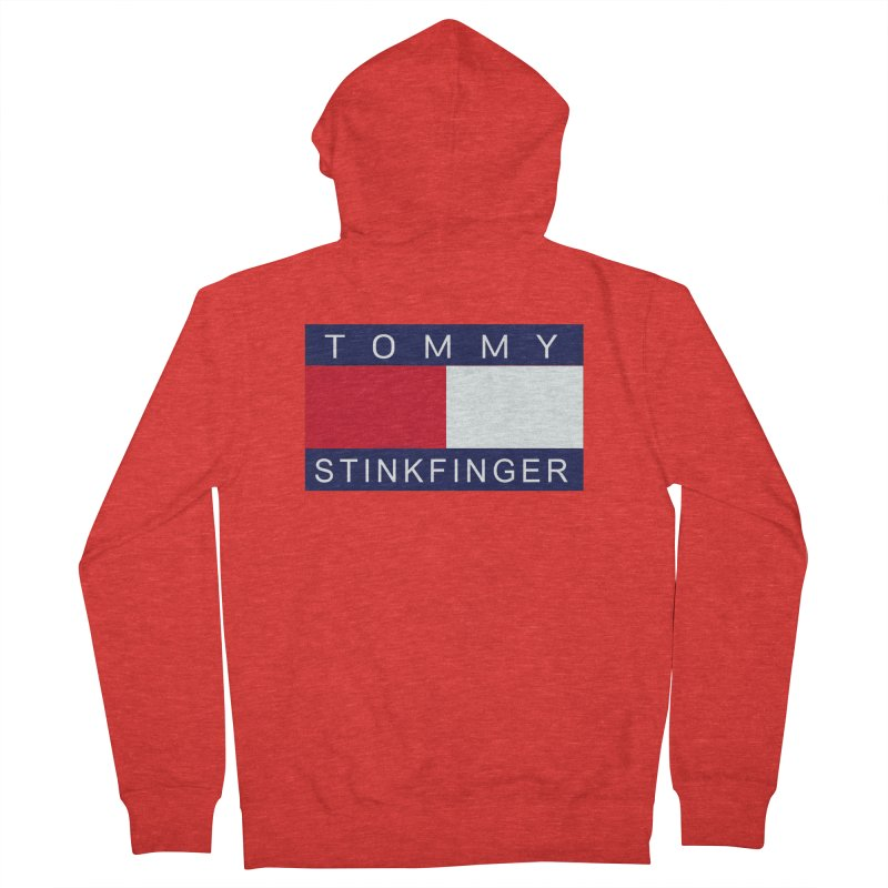 TOMMY STINKFINGER Women's Zip-Up Hoody by WISE FINGER LAB