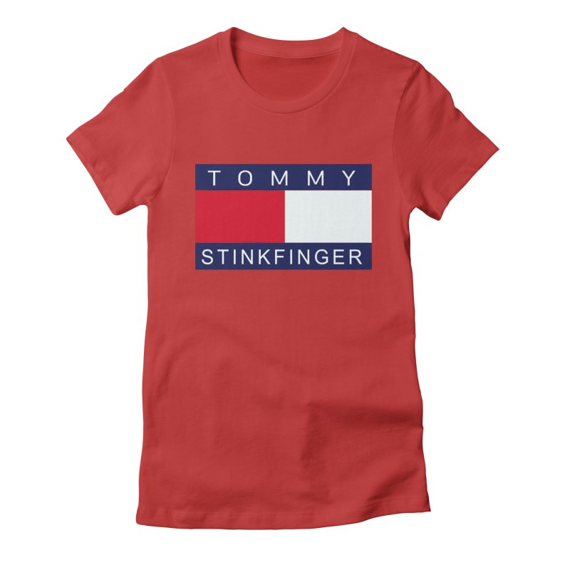 TOMMY STINKFINGER Women's T-Shirt by WISE FINGER LAB
