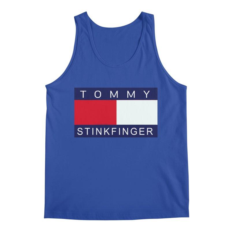 TOMMY STINKFINGER Men's Tank by WISE FINGER LAB