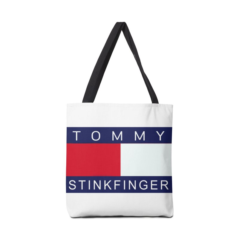 TOMMY STINKFINGER Accessories Bag by WISE FINGER LAB