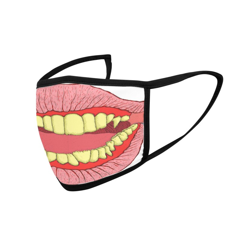 BIG MOUTH MASK Accessories Face Mask by WISE FINGER LAB