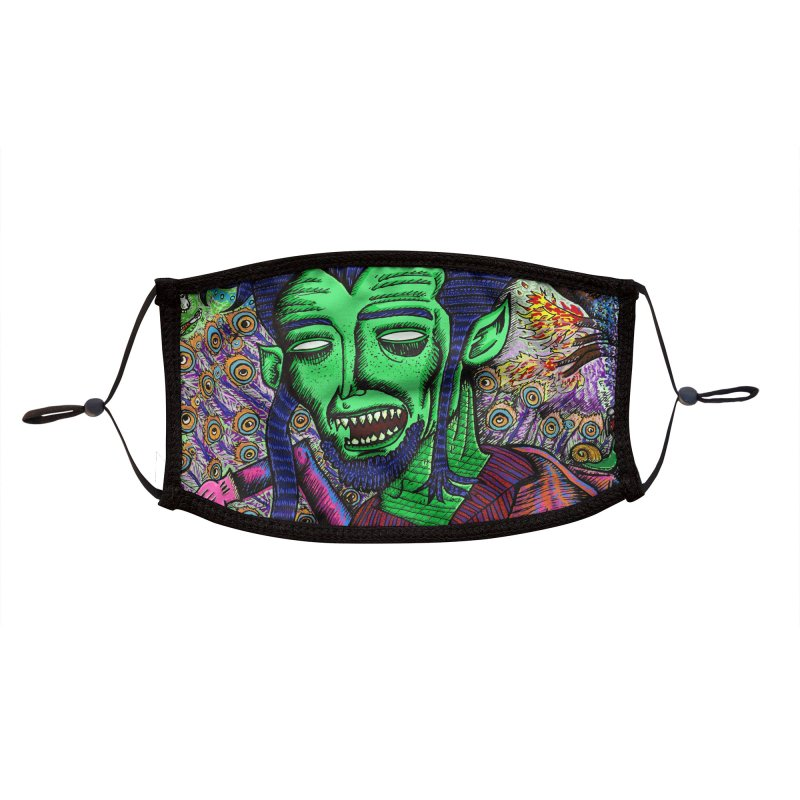 QUARANTINE VAMPIRE Accessories Face Mask by WISE FINGER LAB