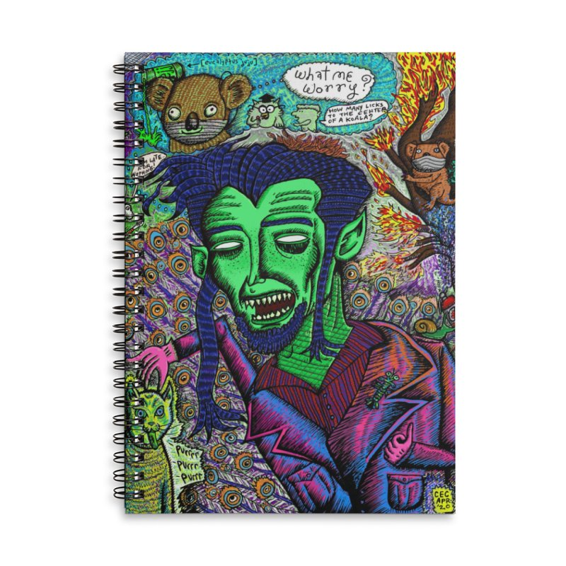 QUARANTINE VAMPIRE Accessories Notebook by WISE FINGER LAB