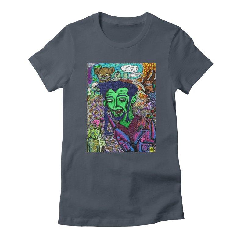QUARANTINE VAMPIRE Women's T-Shirt by WISE FINGER LAB