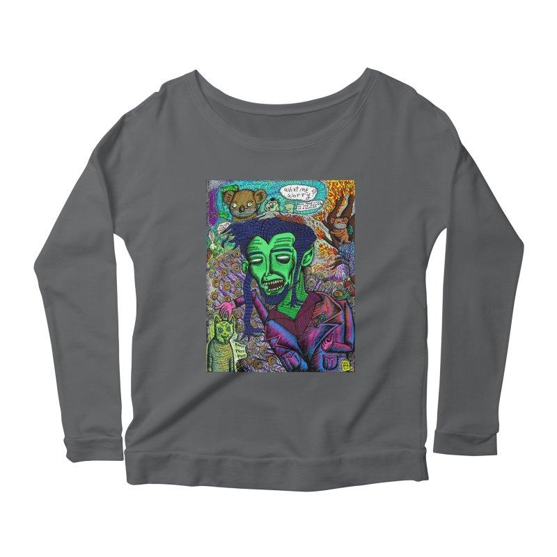 QUARANTINE VAMPIRE Women's Longsleeve T-Shirt by WISE FINGER LAB