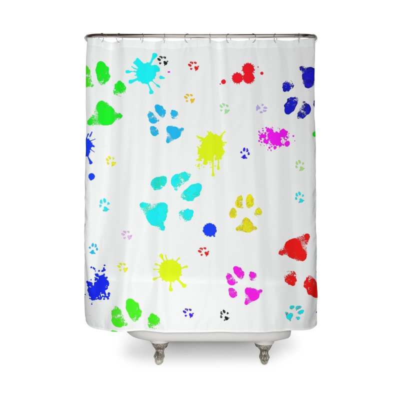Jackson Pawlick Home Shower Curtain by WISE FINGER LAB