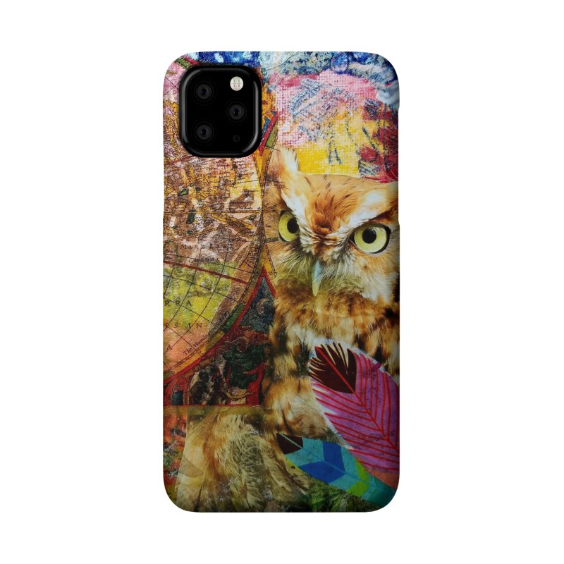 Timeless Owl Accessories Phone Case by Wise Owl Artworks Artist Shop