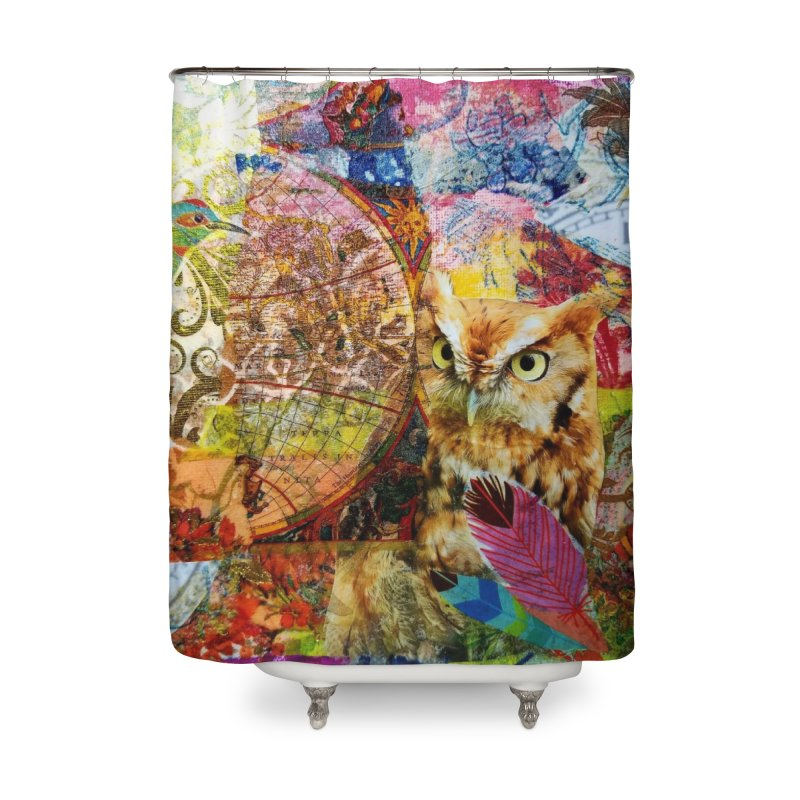 Timeless Owl Home Shower Curtain by Wise Owl Artworks Artist Shop