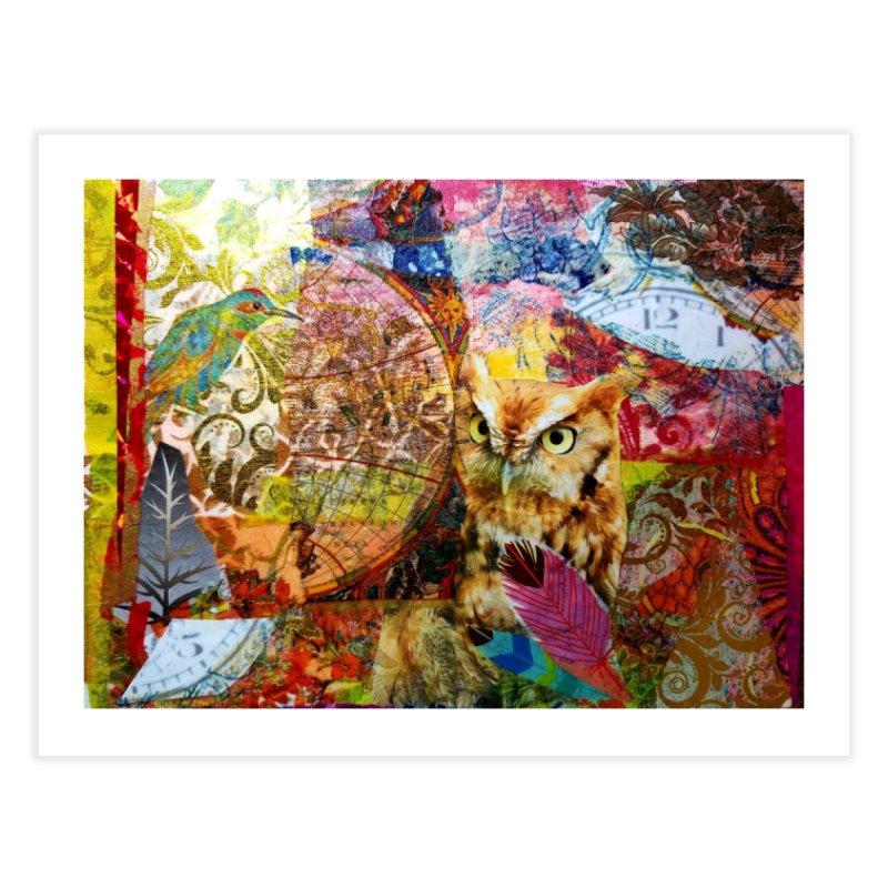 Timeless Owl Home Fine Art Print by Wise Owl Artworks Artist Shop