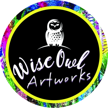 Wise Owl Artworks Artist Shop Logo