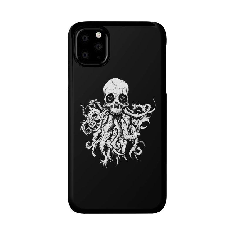 Tentaskull Accessories Phone Case by WishEyeVeiw's Tshirt & Junk Emporium!