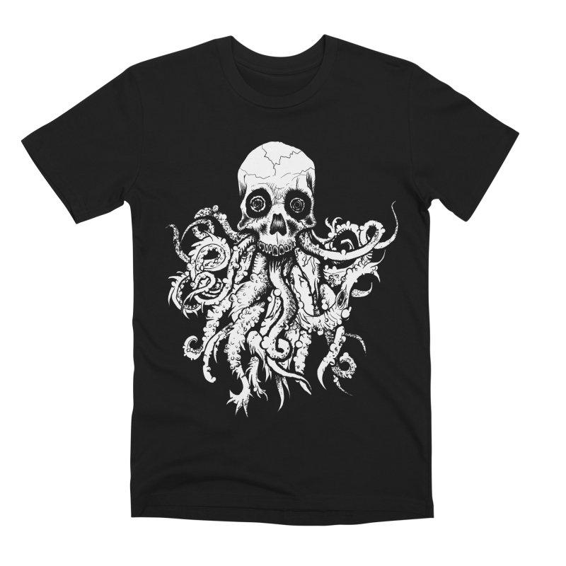 Tentaskull Men's Premium T-Shirt by WishEyeVeiw's Tshirt & Junk Emporium!