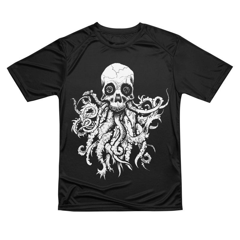 Tentaskull Women's Performance Unisex T-Shirt by WishEyeVeiw's Tshirt & Junk Emporium!