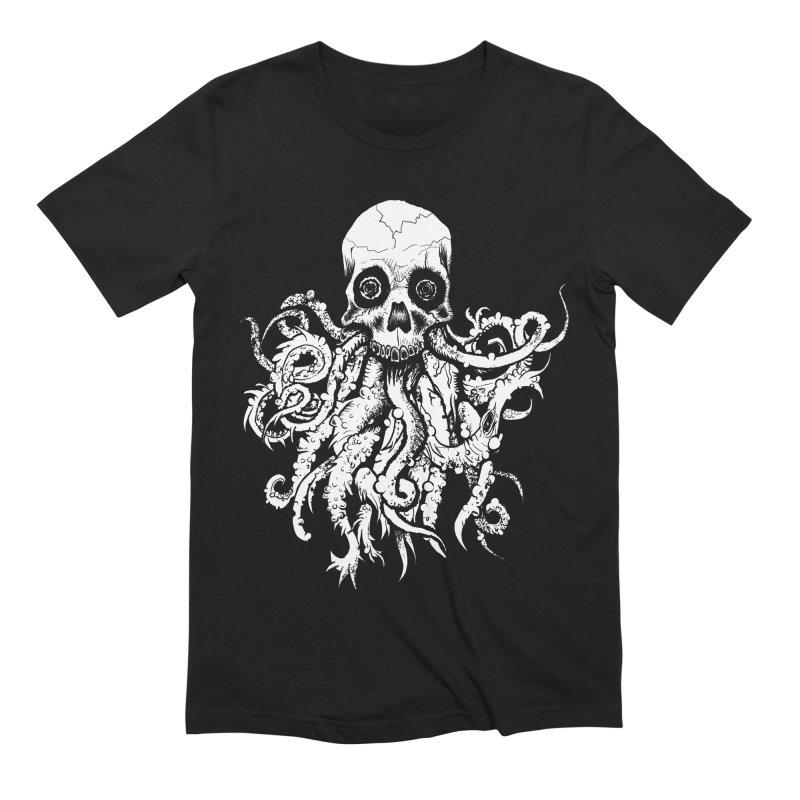 Tentaskull Men's Extra Soft T-Shirt by WishEyeVeiw's Tshirt & Junk Emporium!