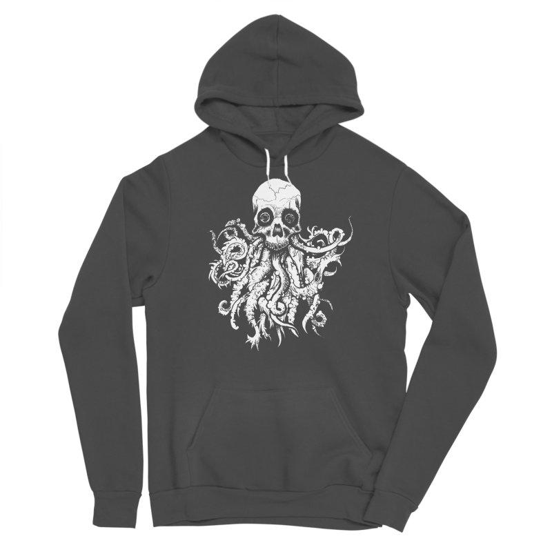 Tentaskull Men's Sponge Fleece Pullover Hoody by WishEyeVeiw's Tshirt & Junk Emporium!