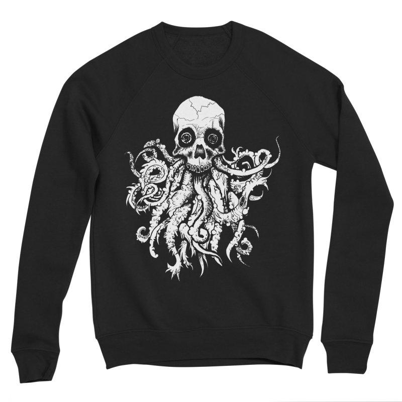 Tentaskull Women's Sponge Fleece Sweatshirt by WishEyeVeiw's Tshirt & Junk Emporium!