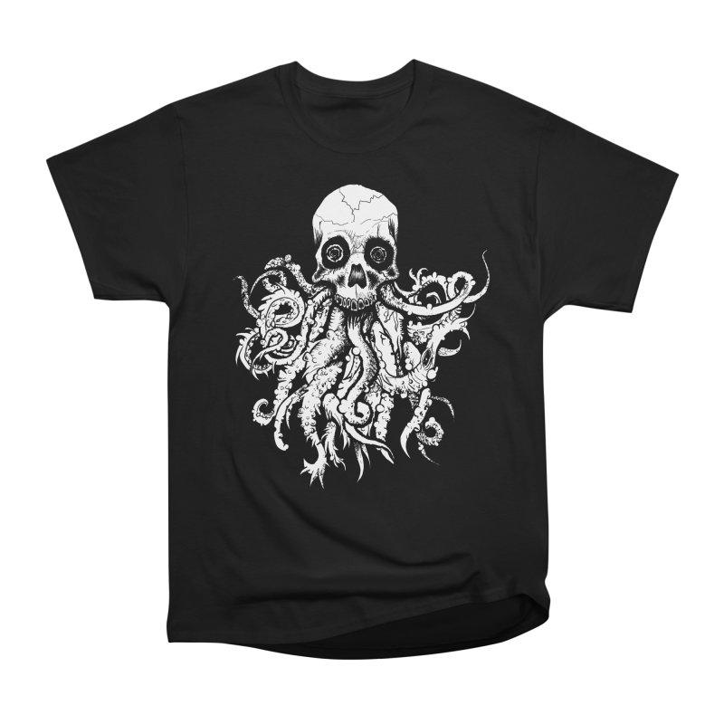 Tentaskull Women's Heavyweight Unisex T-Shirt by WishEyeVeiw's Tshirt & Junk Emporium!