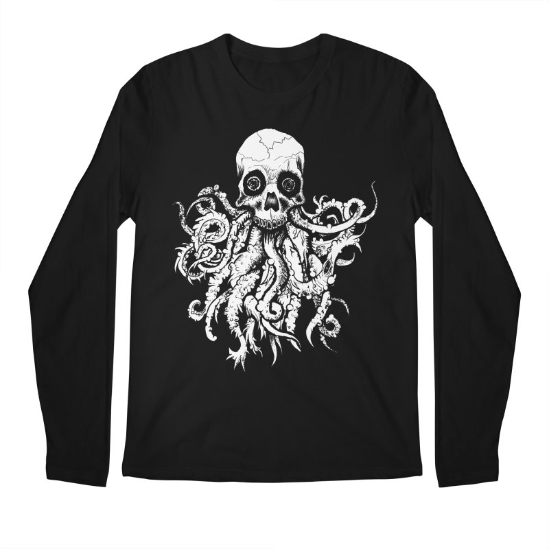 Tentaskull Men's Regular Longsleeve T-Shirt by WishEyeVeiw's Tshirt & Junk Emporium!