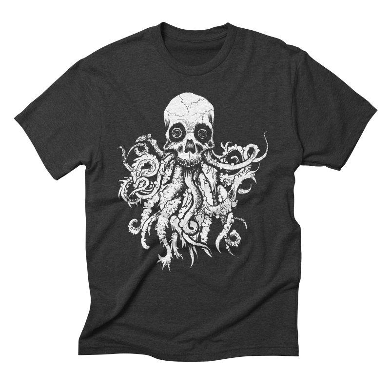Tentaskull Men's Triblend T-Shirt by WishEyeVeiw's Tshirt & Junk Emporium!
