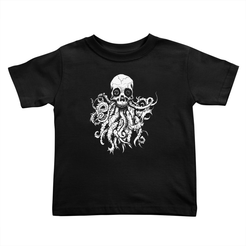 Tentaskull Kids Toddler T-Shirt by WishEyeVeiw's Tshirt & Junk Emporium!